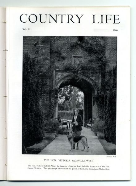 1946 COUNTRY LIFE Magazine VITA SACKVILLE-WEST Powerscourt Wicklow (3062)